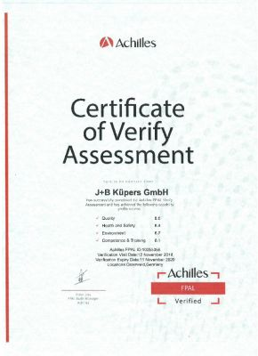 FPAL-Certificate